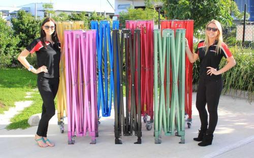 Pop-up sátor színes vázszerkezet