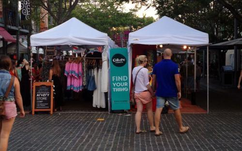 Piac, vásár - Pop-up sátor